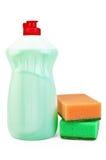 губки тензида бутылки Стоковые Изображения RF