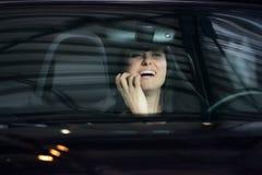 губная помада девушки Стоковые Фотографии RF