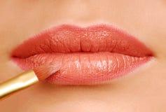 губная помада щетки Стоковые Фотографии RF
