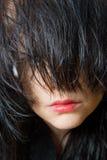 губы волос Стоковые Изображения RF