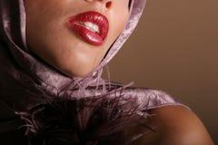губы красные Стоковое фото RF