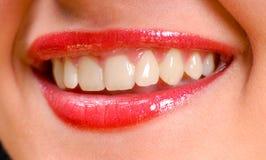 губы сексуальные Стоковая Фотография