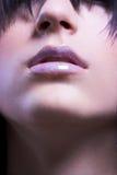 губы Стоковые Фото