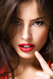 губы Стоковая Фотография