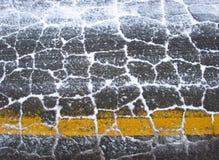 гудронированное шоссе Стоковая Фотография
