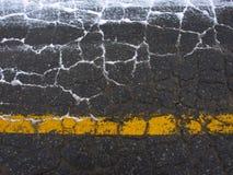 гудронированное шоссе Стоковое Изображение RF