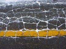 гудронированное шоссе Стоковое Фото