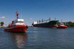 гуж грузового корабля Стоковые Изображения RF