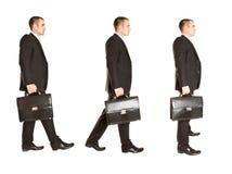 гулять бизнесмена красивый Стоковые Фотографии RF