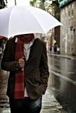 гулять дождя стоковые фото
