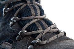 гулять зашнурованный ботинком Стоковое Изображение RF