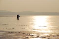 гулять льда Стоковые Изображения RF
