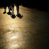 гулять людей стоковые фотографии rf