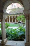 гулять монастыря Стоковые Фотографии RF