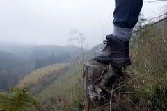 Гулять над долиной Стоковое фото RF