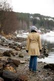 гулять океана стоковые изображения rf