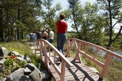 гулять парка Стоковые Изображения RF