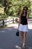 гулять парка Стоковое Фото