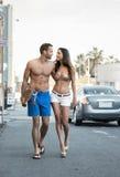 Гулять пар Стоковая Фотография RF