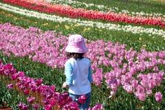 гулять ребенка Стоковое Фото