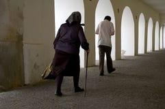 гулять сводов Стоковая Фотография