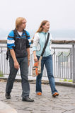 гулять туристов Стоковая Фотография RF