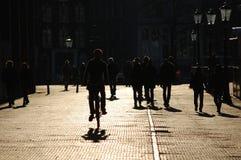 гулять улицы людей стоковое изображение rf