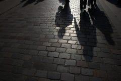гулять улицы ночи Стоковые Фотографии RF