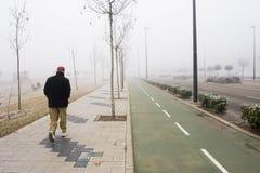 гулять человека Стоковое Изображение
