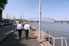 гулять человека Стоковая Фотография RF