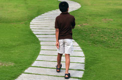 гулять Стоковая Фотография RF