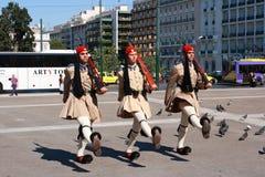 гулять evzon Стоковая Фотография