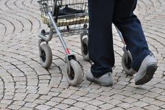 гулять rollator Стоковая Фотография