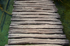Гуляя деревянный путь Стоковое Фото