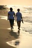 гуляя женщины Стоковая Фотография RF