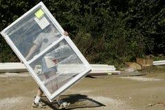 гуляя окно стоковое изображение