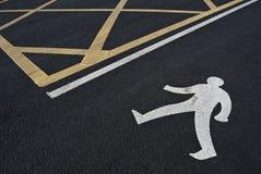 Гуляя человек Стоковая Фотография