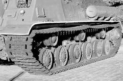 Гусеница танка Стоковая Фотография RF