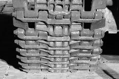 Гусеница танка Стоковые Фотографии RF