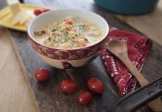 Густой суп цветной капусты Стоковые Фото