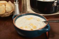 Густой суп Clam Стоковое Фото