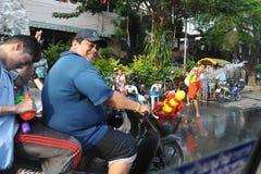 Тайское Новый Год - Songkran Стоковое фото RF
