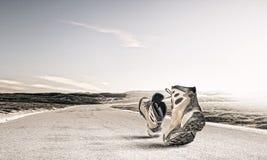 гулять ботинок Стоковые Изображения RF
