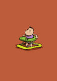 гулять младенца Стоковое Изображение RF