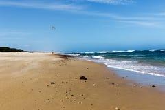 гулять пляжа Стоковое фото RF