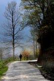 Гулять самостоятельно Стоковые Изображения RF