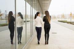 2 гуляя женщины Стоковые Изображения RF