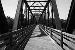 Гуляя мост Стоковая Фотография RF