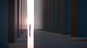 Гуляя человек бесплатная иллюстрация