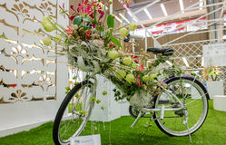 Глава Ikebana международная Сингапура Стоковое Фото